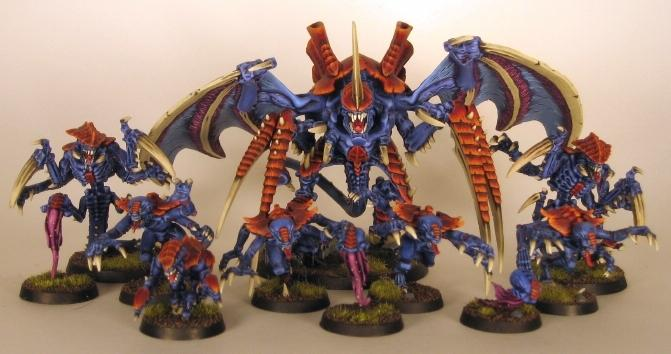 Conversion, Hive Tyrant, Tyranids, Warhammer 40,000, Winged