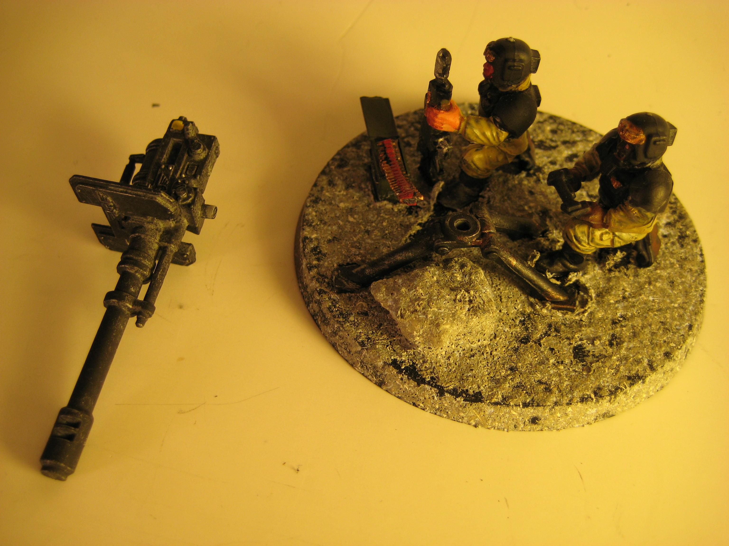 Cadians, Heavy Weapon Team, Imperial Guard, Warhammer 40,000
