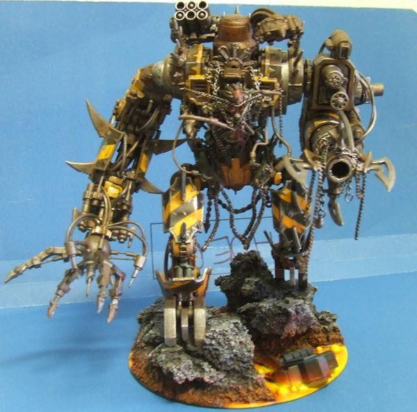 Chaos, Iron Warrios, Scratch Build, Warhammer 40,000