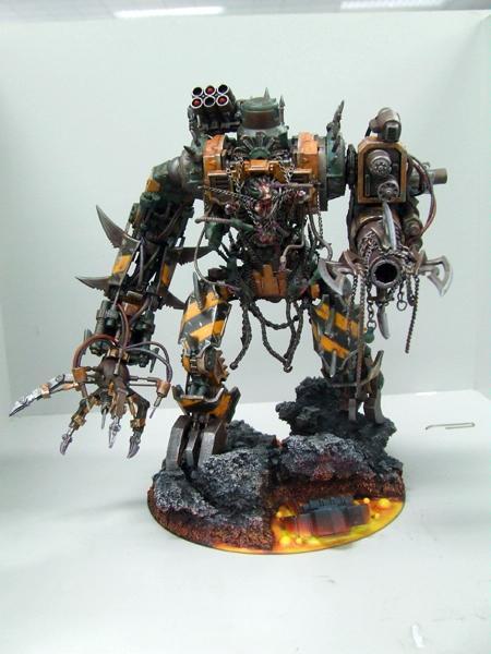 Awesome, Chaos, Conversion, Iron Warriors, Titan, Warhammer 40,000