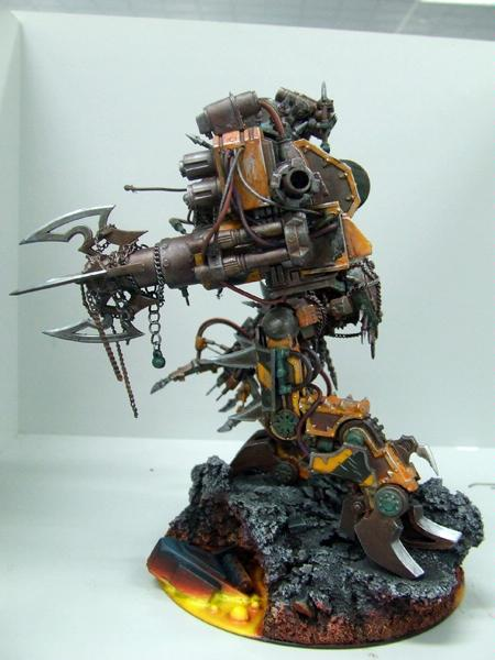 Chaos Space Marines, Conversion, Dreadnought, Iron Warriors