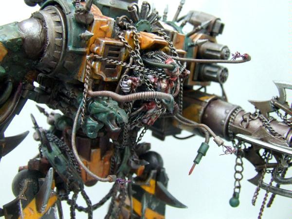 Chaos, Conversion, Defiler, Walker, Warhammer 40,000
