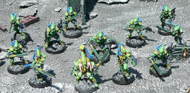 Eldar, Karandras, Striking Scorpions, Urban Base, Warhammer 40,000