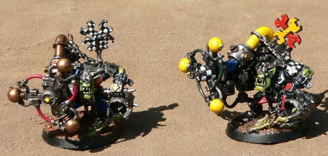 Mekboy, Orks, Shokk Attack Gun, Warhammer 40,000