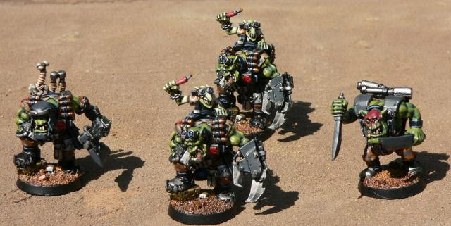 Kommandos, Nob, Orks, Warhammer 40,000