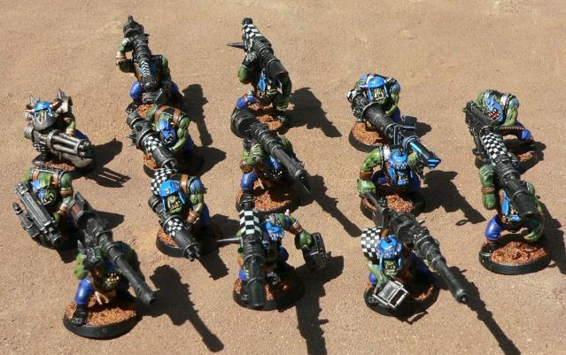 Deathskulls, Lootas, Orks, Warhammer 40,000