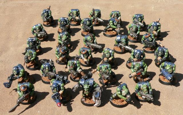 Blood Axe, Orks, Shoota Boyz, Warhammer 40,000