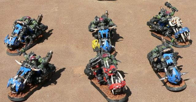 Bike, Orks, Warbikers, Warhammer 40,000