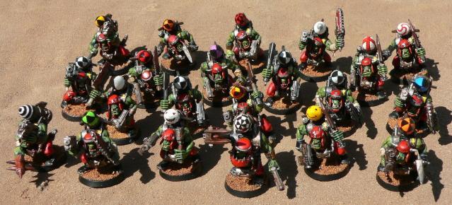 Mob, Orks, Stormboyz, Warhammer 40,000
