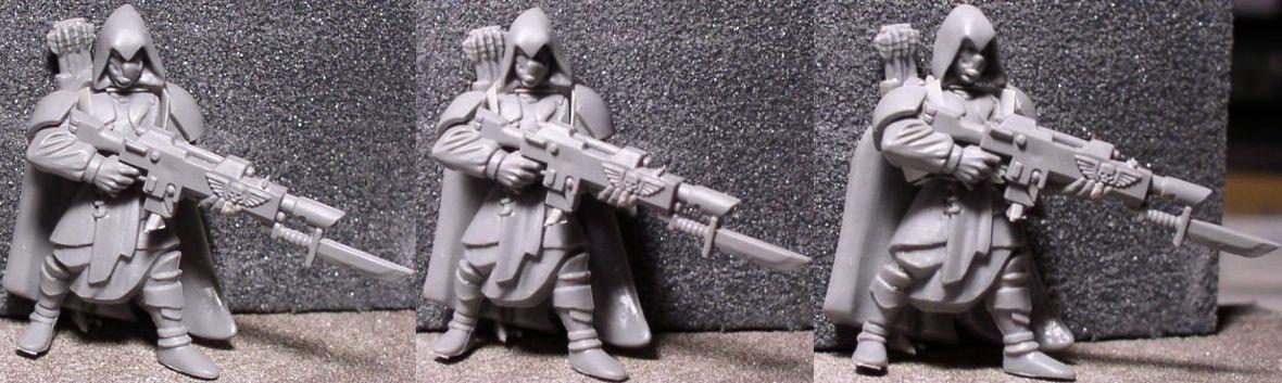 Imperial Guard, Kitbash, Tanith, Warhammer 40,000, Wood Elves, Work In Progress