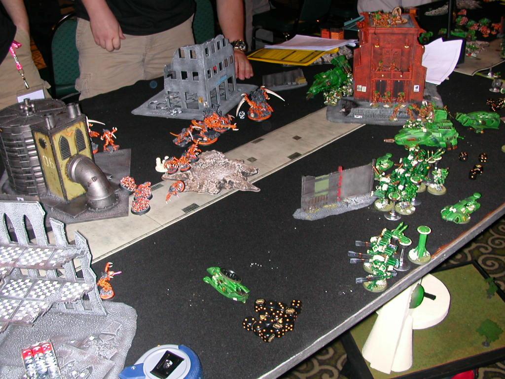 Battle Report, Terrain