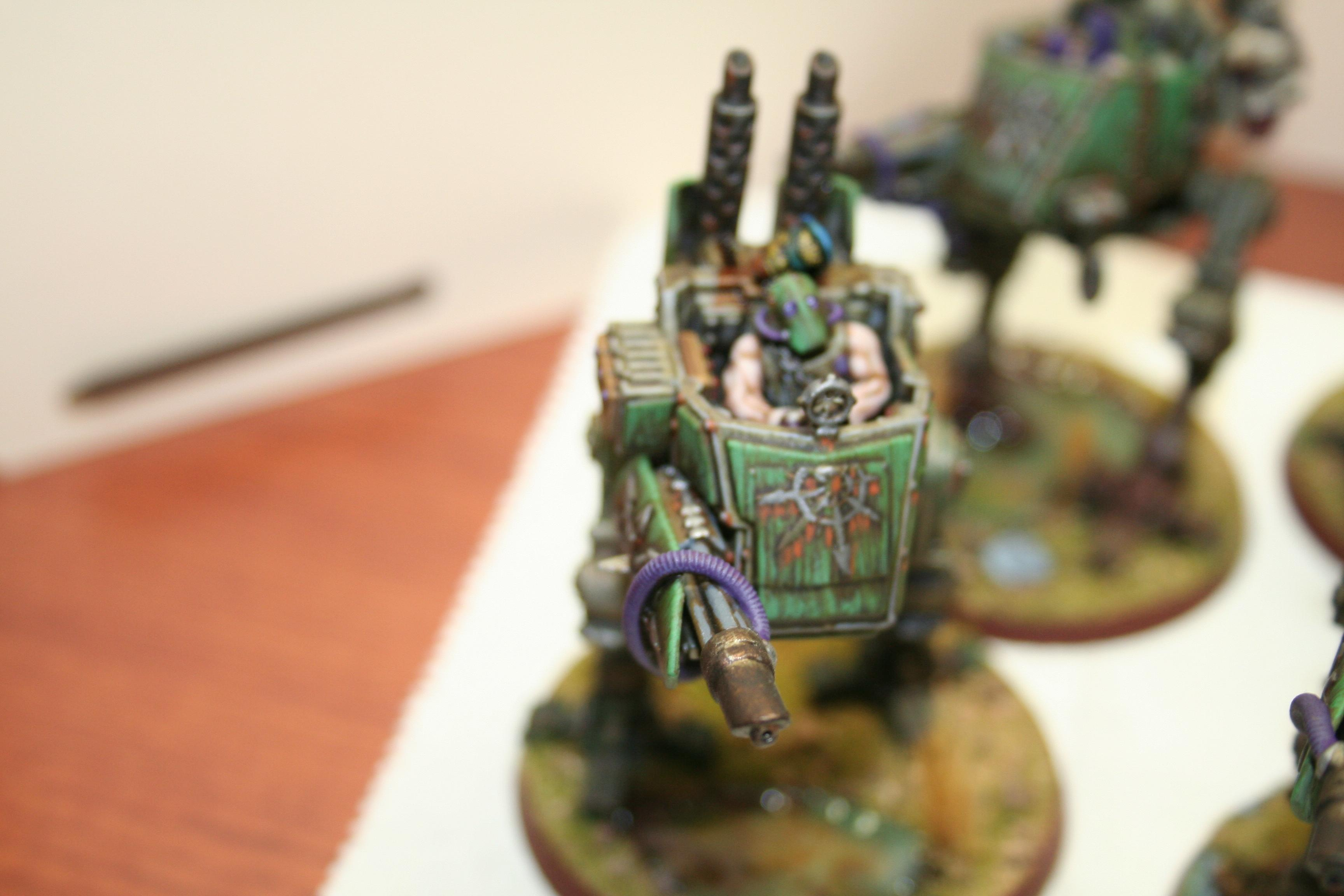 Chaos, Conversion, Imperial Guard, Nurgle, Sentinel, Traitor, Warhammer 40,000