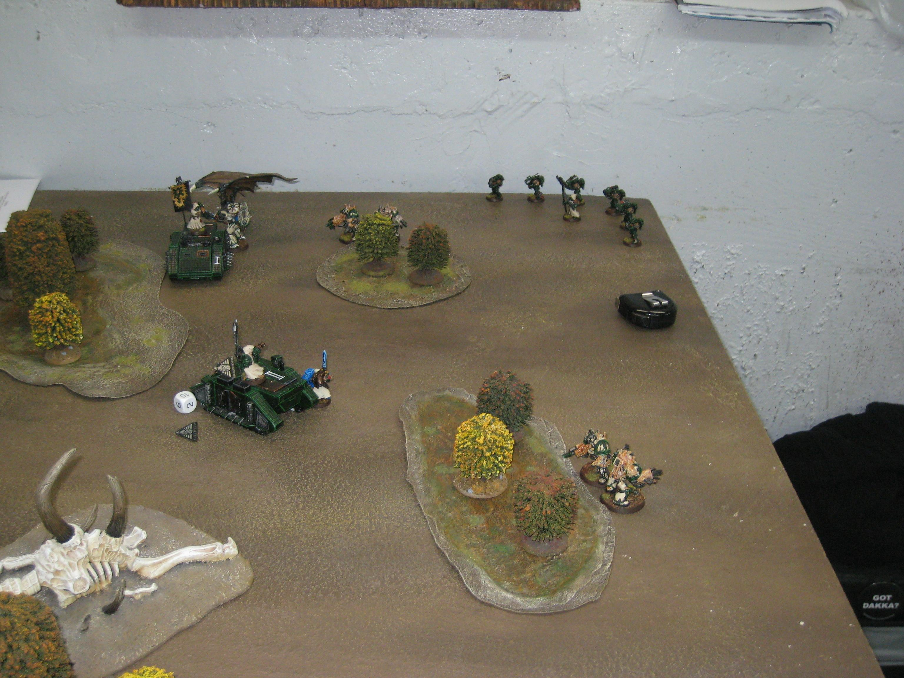 Battle Report, Chaos Space Marines, Warhammer 40,000