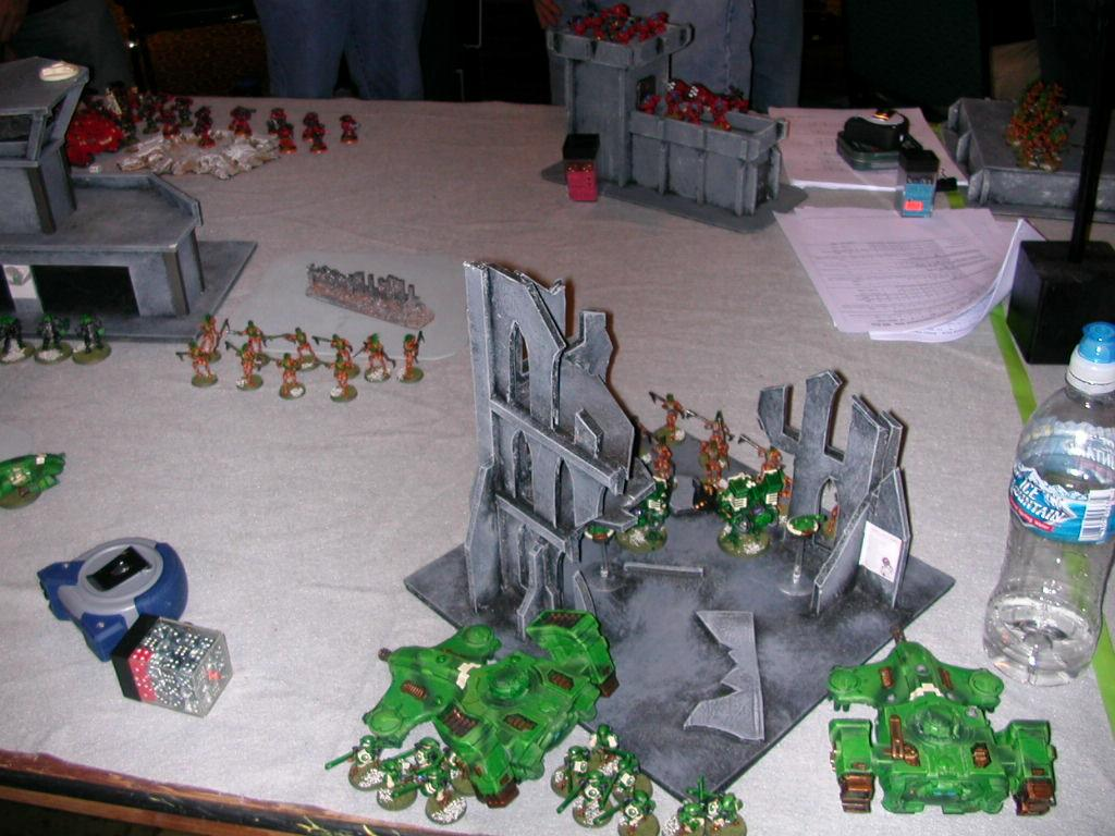 Battle Report, Tau, Tau Battle Report