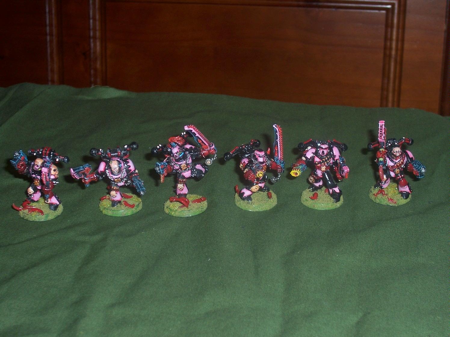 Chaos Space Marines, Emperor's Children, Slaanesh, Warhammer 40,000