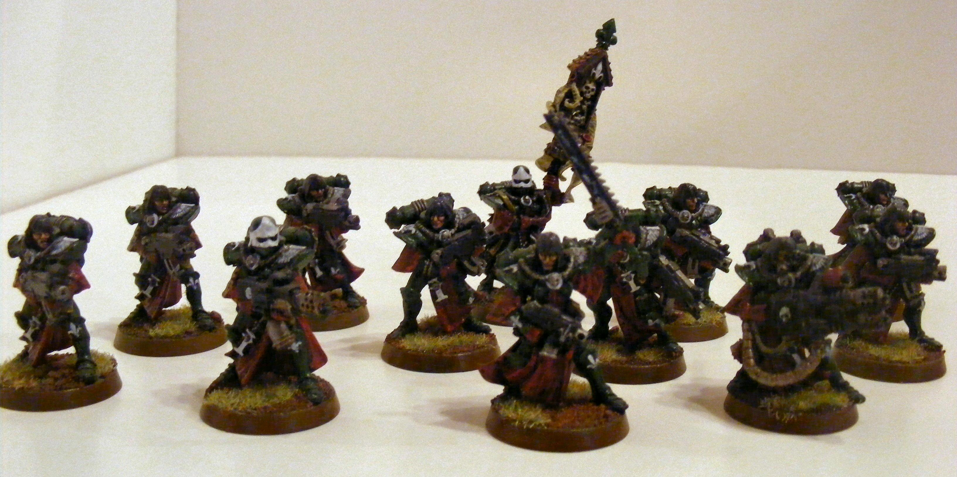 Sisters Of Battle, Squad, Witchhunters