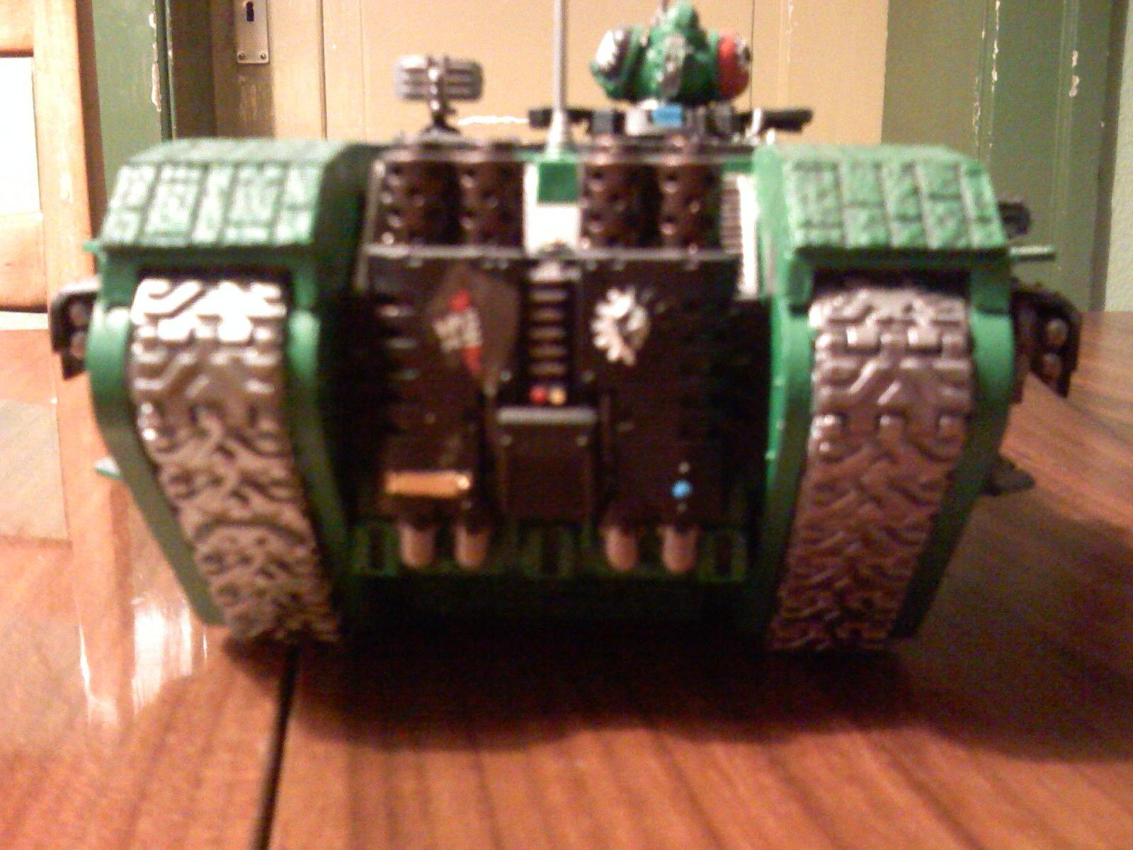 Land Raider, Salamanders, Space Marines, Warhammer 40,000