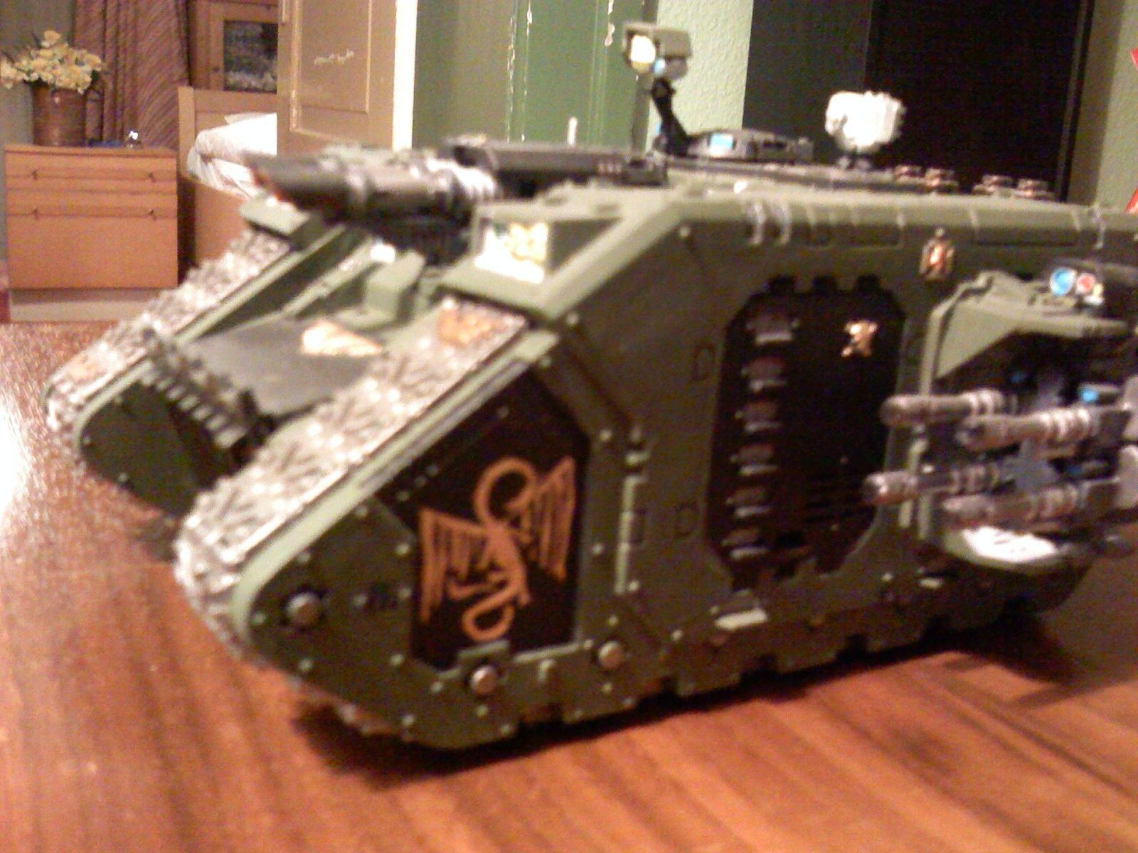 Golden Dragons, Land Raider, Space Marines, Warhammer 40,000