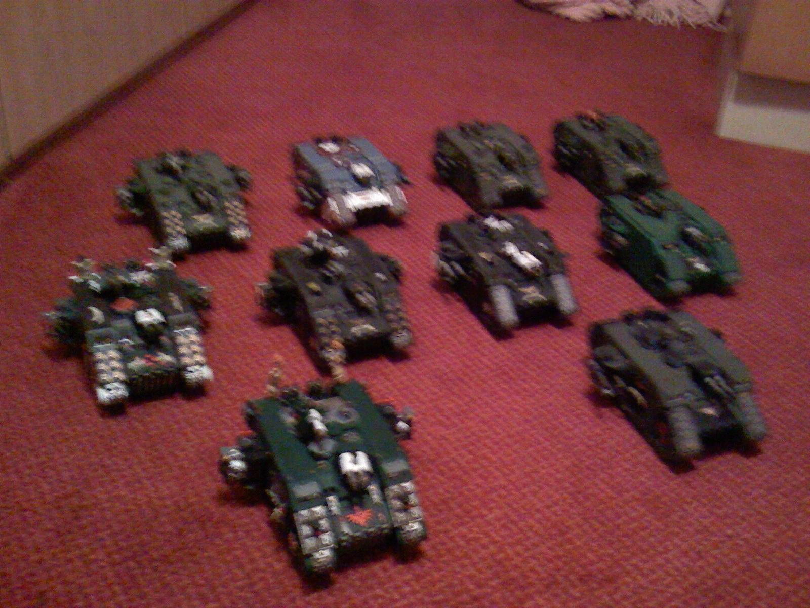 Land Raider, Space Marines, Warhammer 40,000
