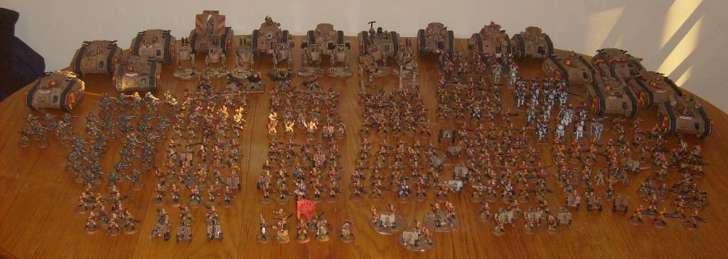 Army, Imperial Guard, Leman Russ, Praetorians, Sentinel, Warhammer 40,000