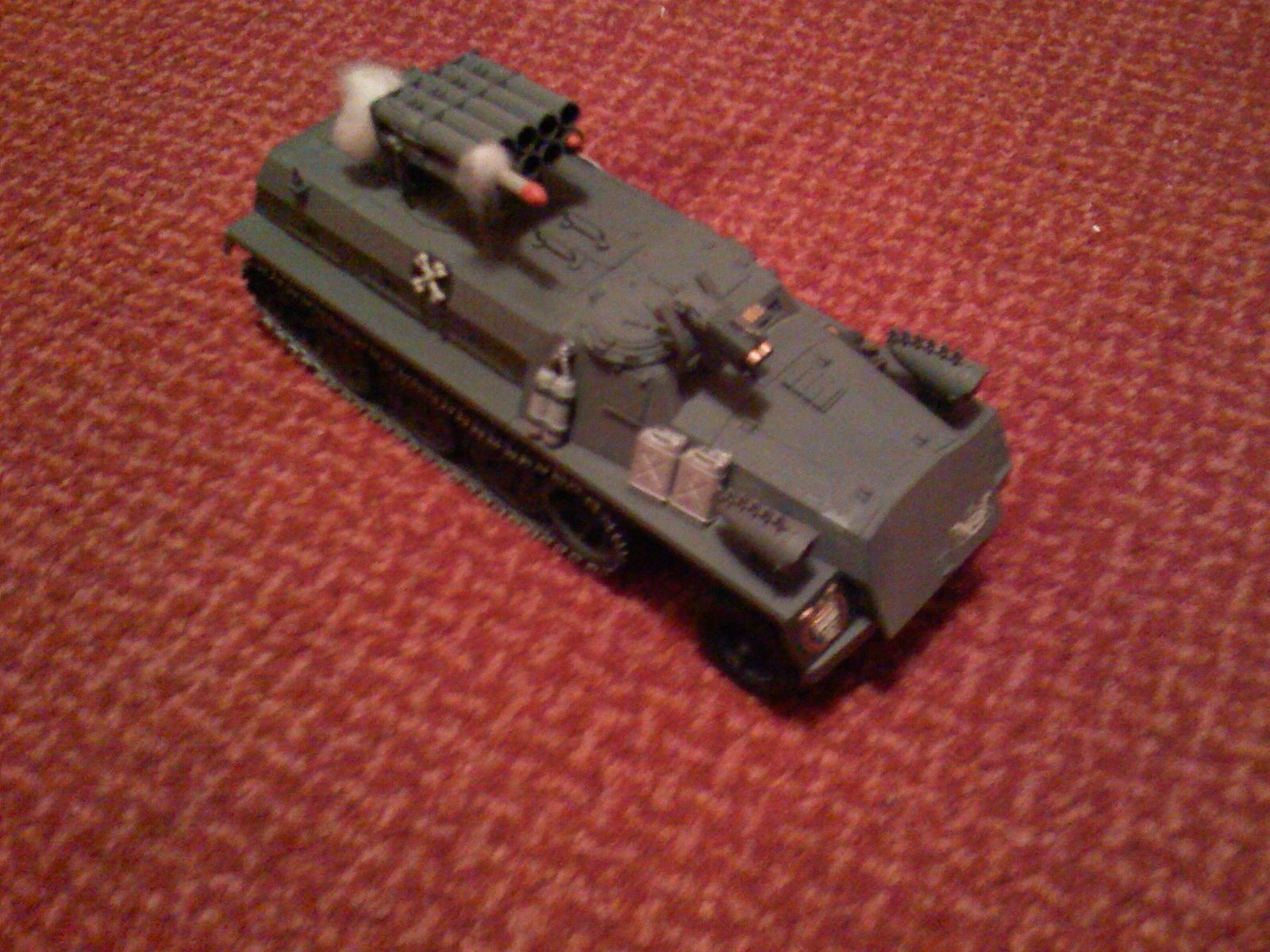 Armored Company, Imperial Guard, Missile Launcher, Warhammer 40,000