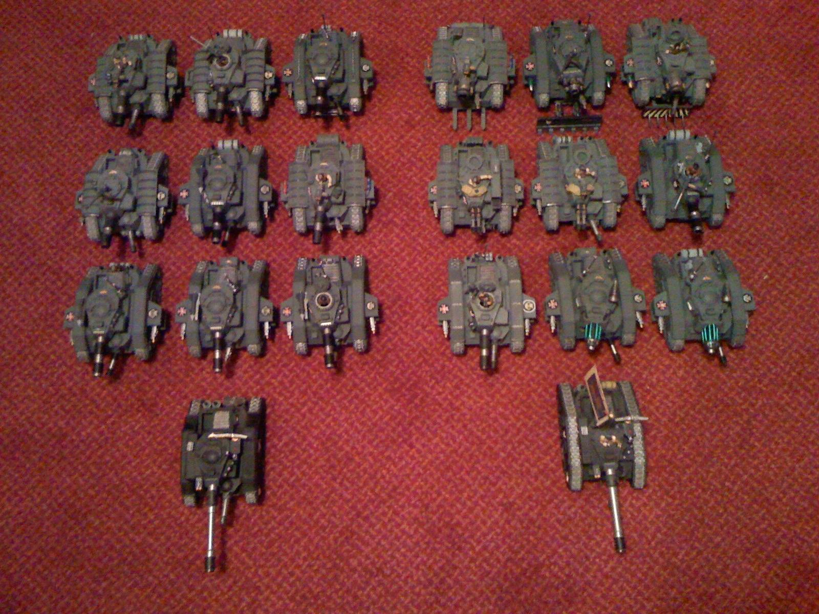 Armored Company, Imperial Guard, Two Companys, Warhammer 40,000