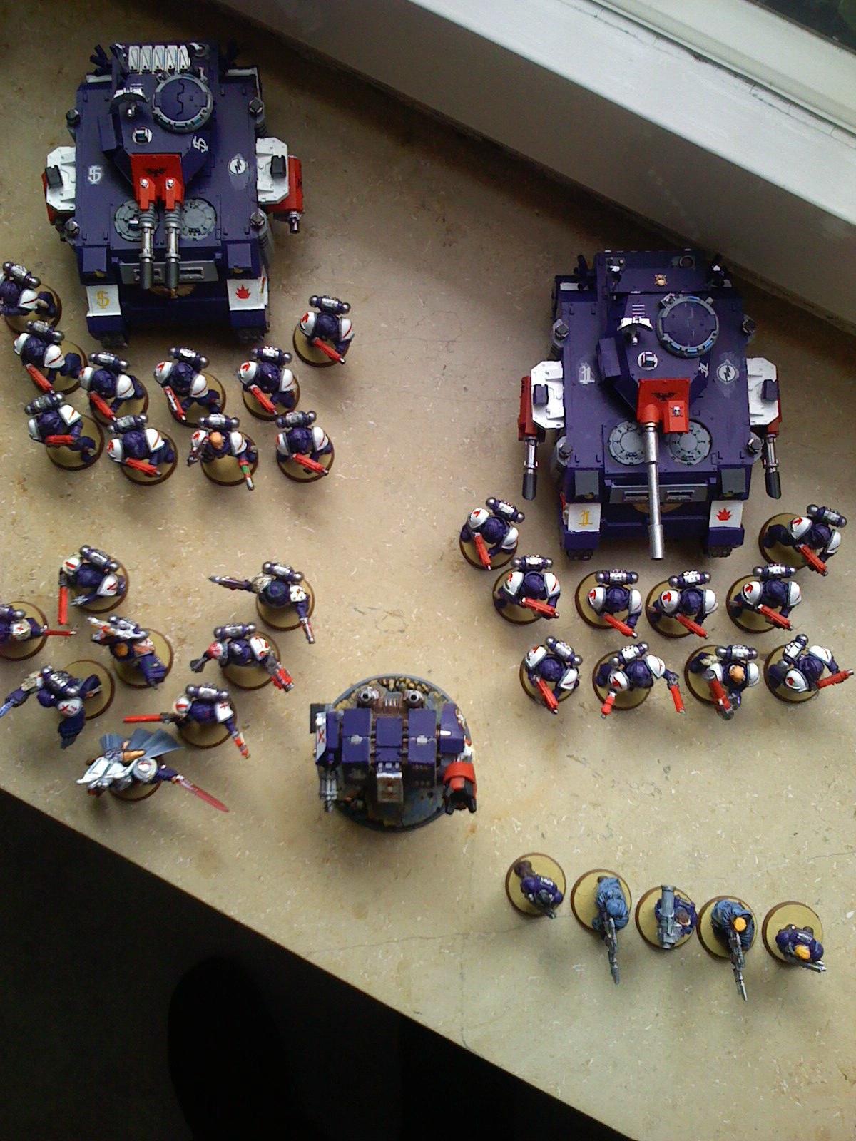 Army, Crimson Swords, Space Marines, Warhammer 40,000
