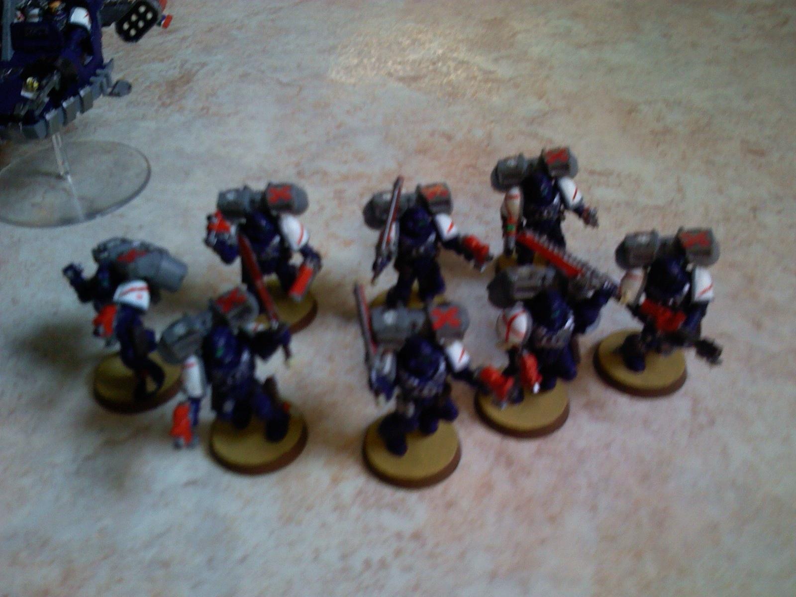 Assault Squad, Crimson Swords, Space Marines, Warhammer 40,000