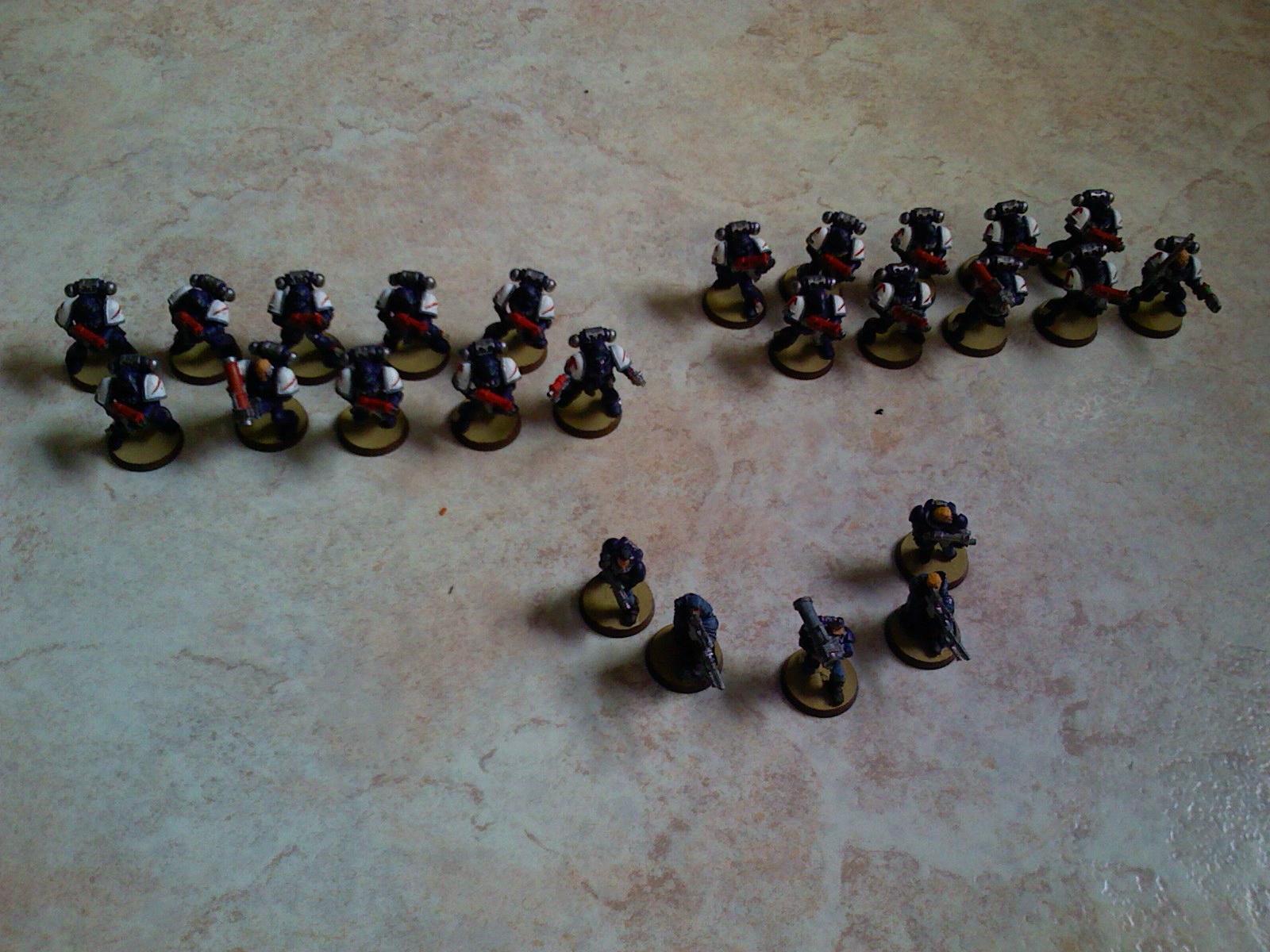 Crimson Swords, Space Marines, Troops, Warhammer 40,000