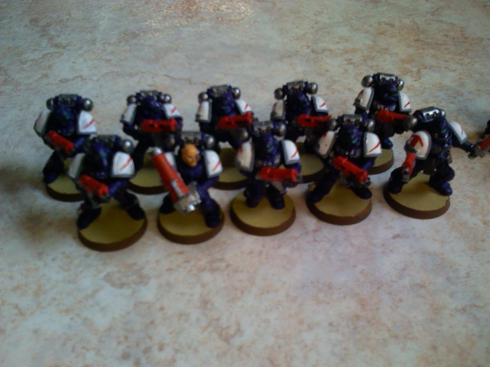 Crimson Swords, Space Marines, Tactical Squad, Warhammer 40,000