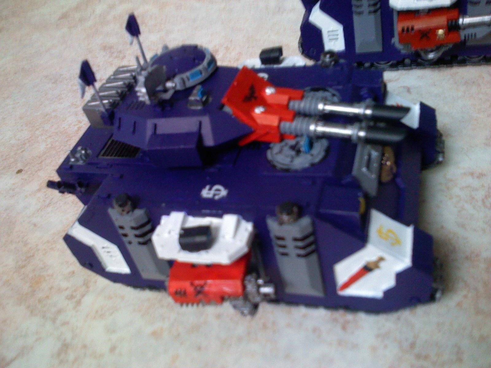 Crimson Swords, Predator, Space Marines, Warhammer 40,000
