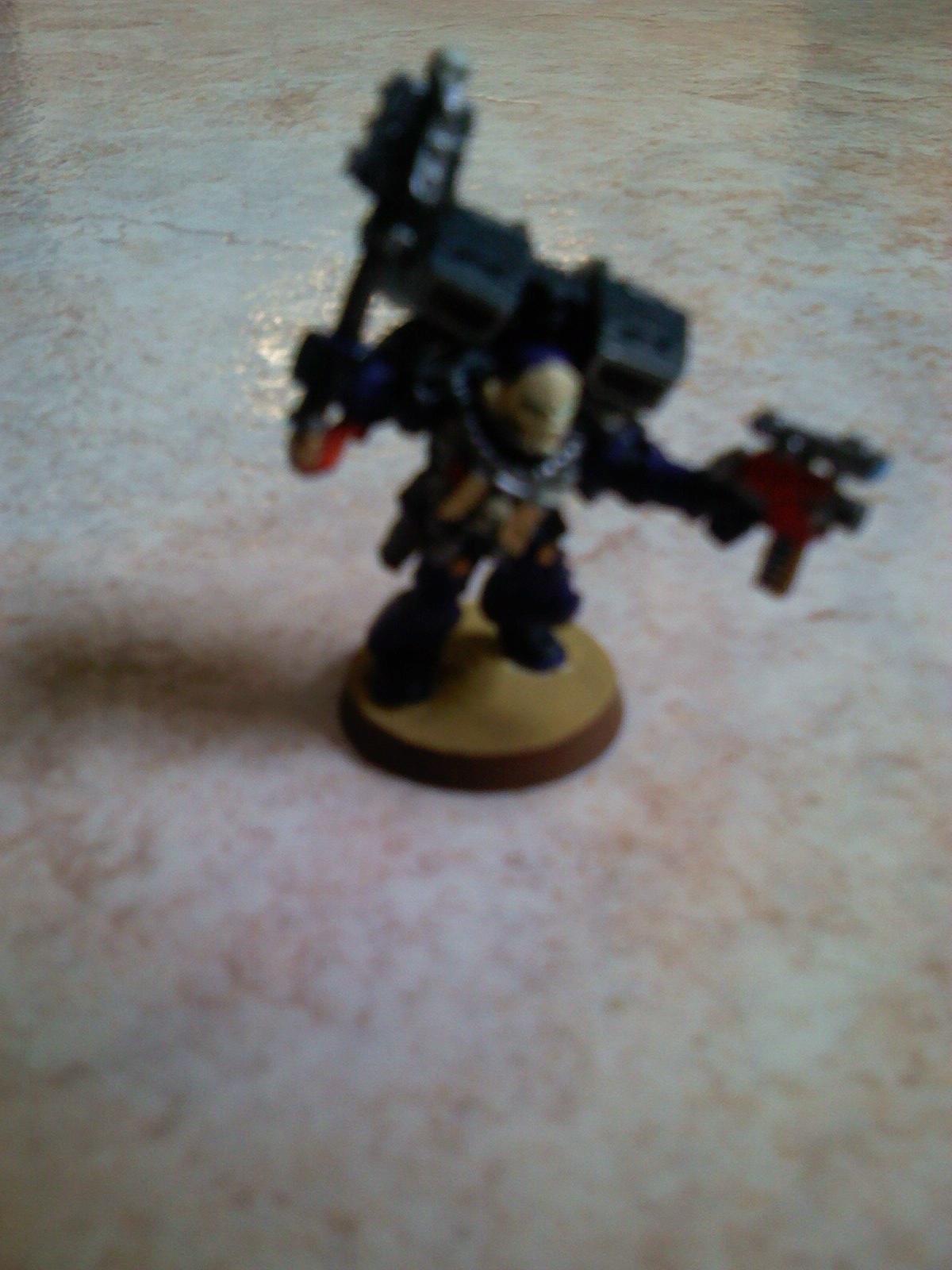 Chaplain, Crimson Swords, Space Marines, Warhammer 40,000