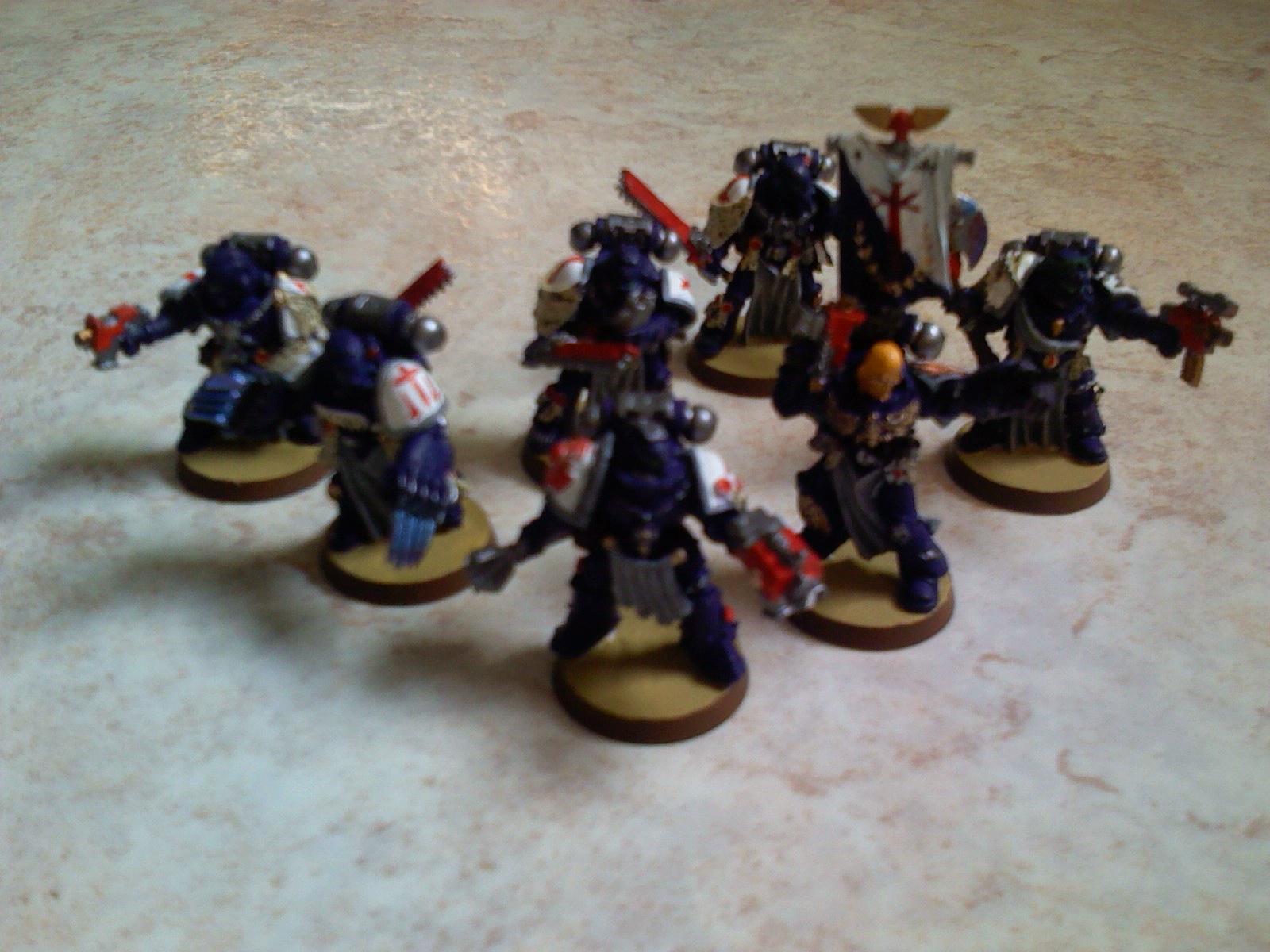 Crimson Swords, Space Marines, Veteran, Warhammer 40,000