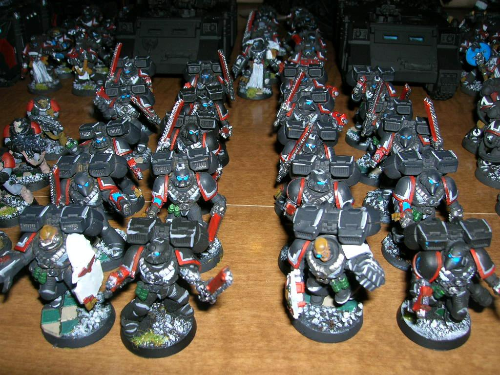 Jump Troopers, Space Marines, Storm Troopers, Warhammer 40,000