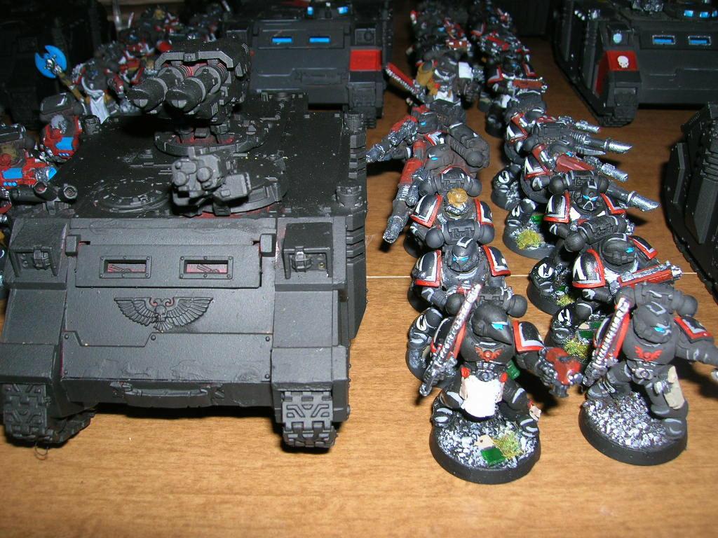 Rhino, Space Marines, Tactical Squad
