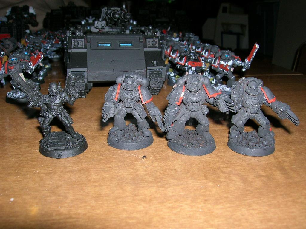 Assassin, Black Templars, Space Marines