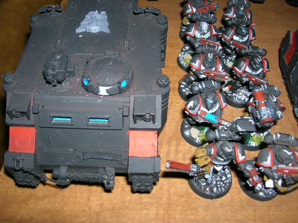 Rhino, Space Marines, Tactical Squad, Troops, Warhammer 40,000