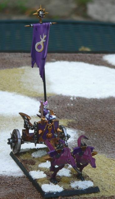 Chaos Daemons, Chariot, Herald, Slaanesh, Warhammer 40,000