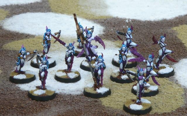 Chaos Daemons, Daemonettes, Slaanesh, Warhammer 40,000