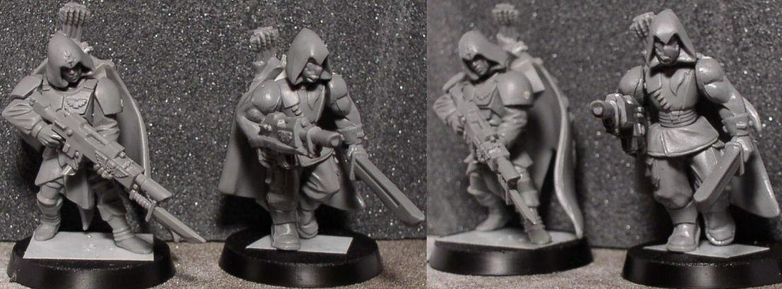 Conversion, Elves, Imperial Guard, Tanith, Warhammer 40,000, Wood Elves, Work In Progress