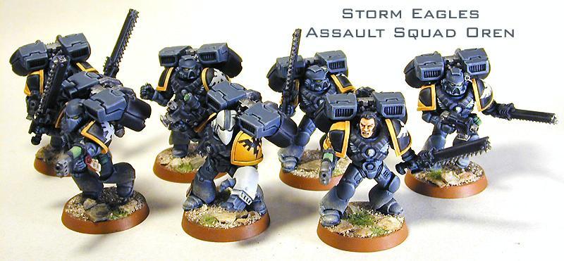 Assault Marines, Space Marines, Space Marines Assault Marines