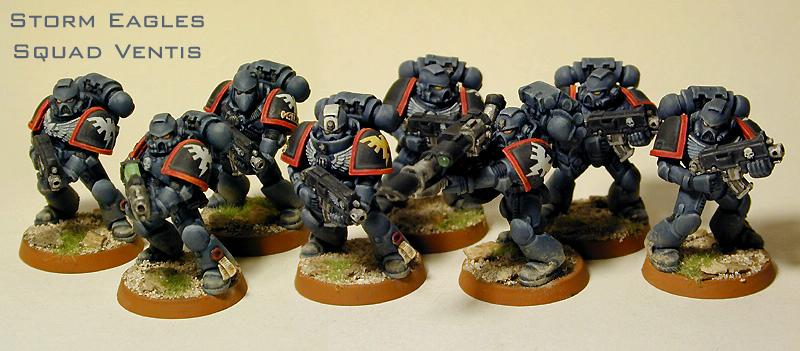 Space Marines, Storm Eagles, Tactical Squad, Warhammer 40,000