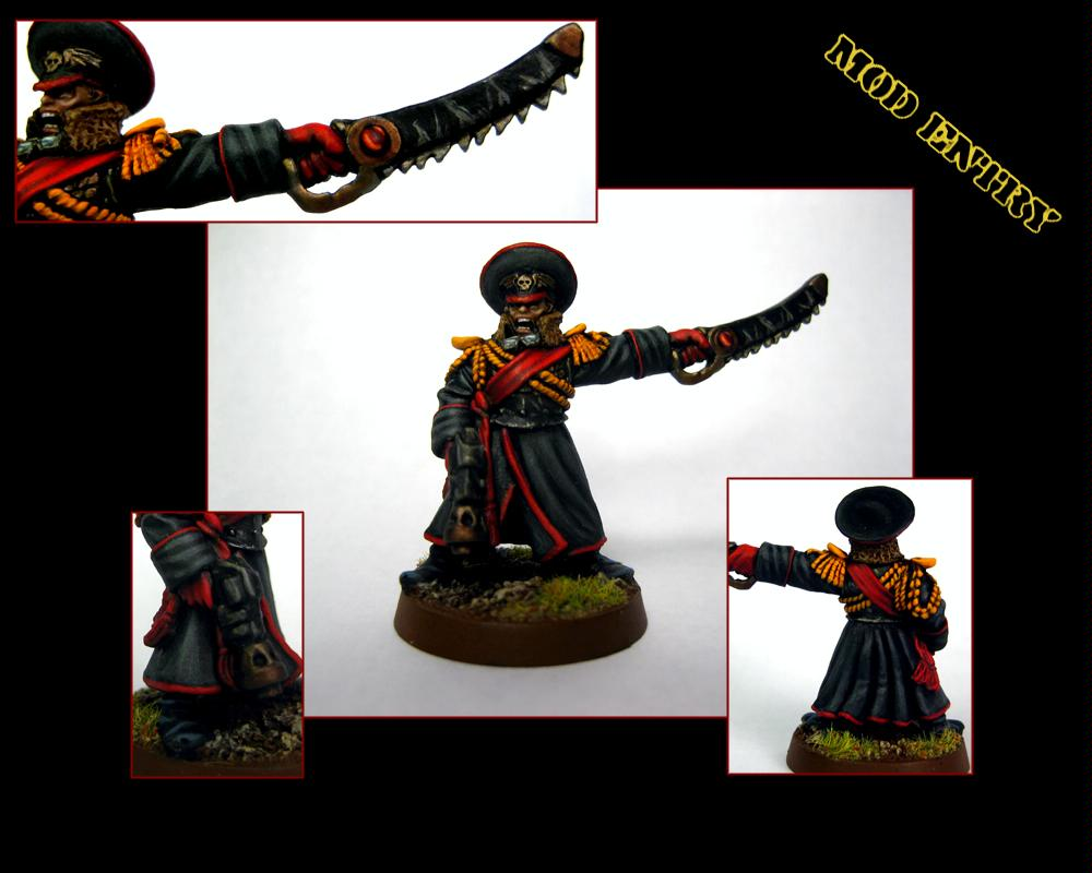 2nd Edition, Commissar, Imperial Guard, Old School, Valhalan, Warhammer 40,000