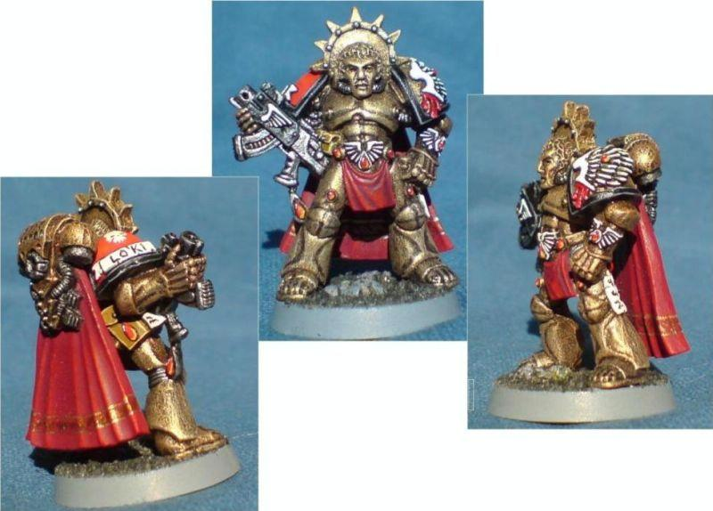 Blood Angels, Dakka Painting Challenge, Old School, Rogue Trader, Space Marines, Special Character, Warhammer 40,000
