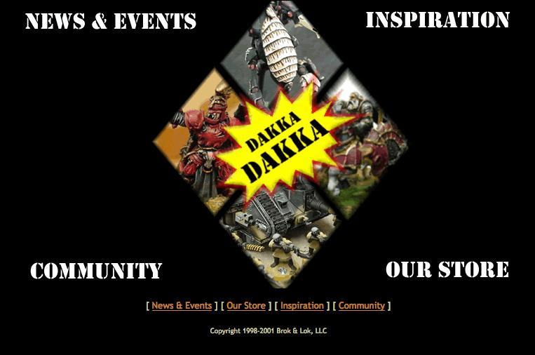 Dakka Dakka, History Of Dakka, Screen Capture, Website