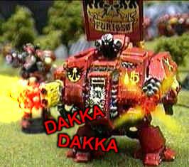 Blood Angels, Dakka Dakka, Dreadnought, History Of Dakka, Logo, Space Marines, Warhammer 40,000