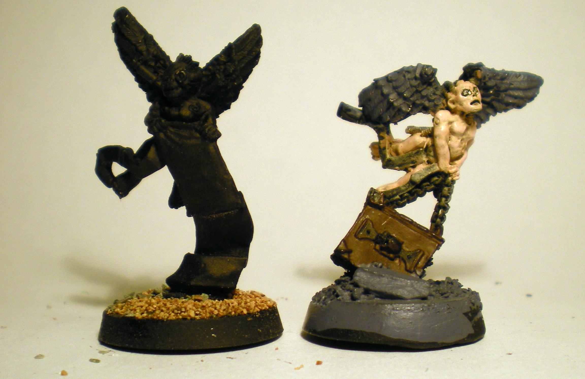 Angel, Cherub, Henchmen, Inquisition, Work In Progress