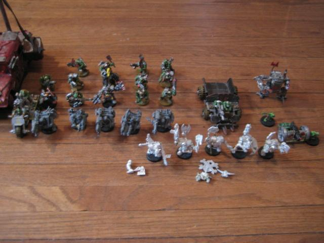 Orks, Work In Progress
