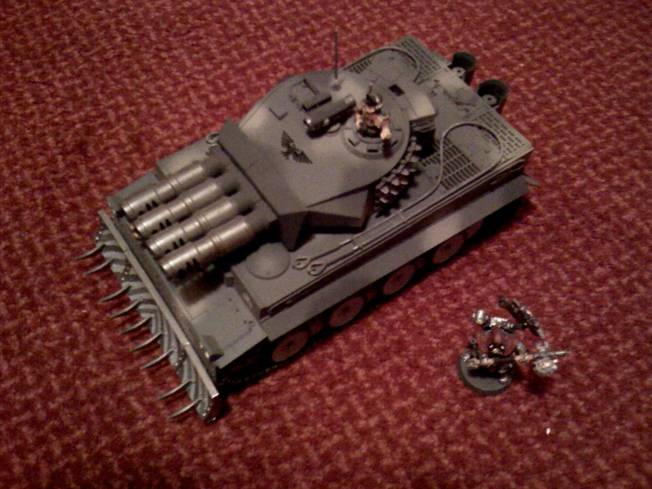 Conversion, Enginseer, Imperial Guard, Super-heavy, Toy, Warhammer 40,000