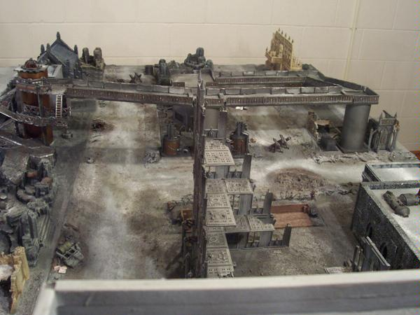 Apocalypse, Battle Report, Cities Of Death, Game Table, Report, Tarkonia Secondus, Terrain, Warhammer 40,000